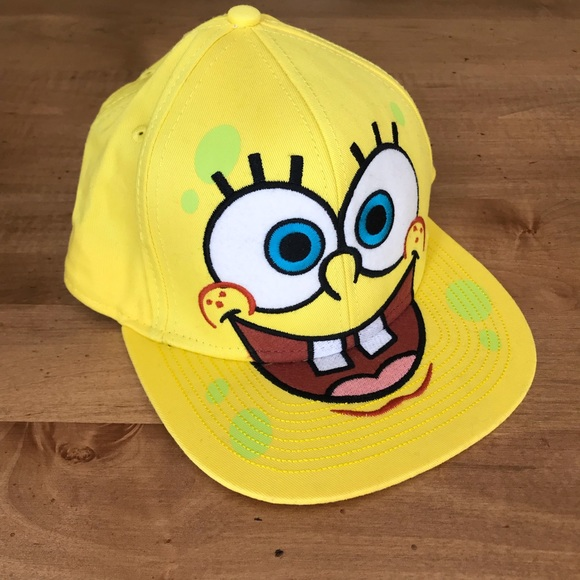 brand new 1fd22 74377 Nickelodeon Yellow Spongebob Hat